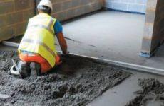 Плюсы и минусы бетонного пола