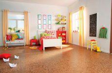 Какой пол больше подходит для детской комнаты?